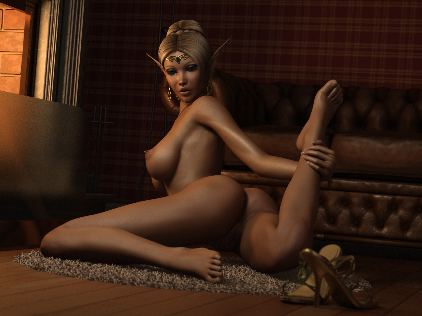 hottest drawing of girls nude
